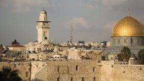 Jerusalem,Israel, the Western Wall. Israel,Jerusalem,the Western Wall and the Old City view royalty free stock images