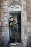 jerusalem izraelska policja Fotografia Stock