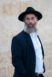 Jerusalem jew. Jude at the Western Wall (Wailing Wall) in Jerusalem, Israel Royalty Free Stock Photo
