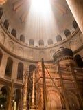 JERUSALEM - Juli 15: Greek Chapel of the Church of Holy Sepulchr Stock Photography