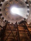 JERUSALEM - Juli 15: Greek Chapel of the Church of Holy Sepulchr Stock Photo