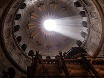 JERUSALEM - Juli 15: Greek Chapel of the Church of Holy Sepulchr Royalty Free Stock Images