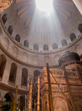 JERUSALEM - Juli 15: Greek Chapel of the Church of Holy Sepulchr Stock Image