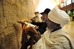 The Wailing Wall - Israel Royalty Free Stock Photo
