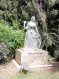 Jerusalem kibbutzer Ramat Rachel The Sculpture av Rachel 2005 Royaltyfria Foton