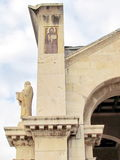 Jerusalem-Kirche aller Nationsskulptur 2012 Stockbild