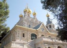 Jerusalem-Kirchen-St. Maria Magdalena 2008 Lizenzfreies Stockbild