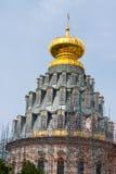 jerusalem kloster nya russia Arkivbilder