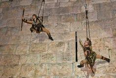 Jerusalem knight festival Royalty Free Stock Photography