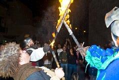 Jerusalem knight festival Stock Images