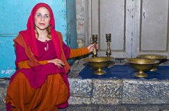Jerusalem knight festival Stock Image