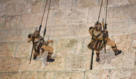 Jerusalem knight festival Royalty Free Stock Photography