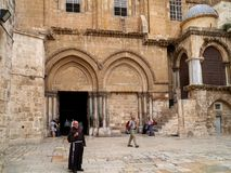 jerusalem kościelny święty sepulchre Zdjęcia Royalty Free