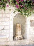 Jerusalem kolonn av kyssen av judas 2008 Arkivfoto
