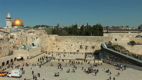 Jerusalem - Kotel stock video