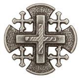 Jerusalem-Kreuz Lizenzfreie Stockbilder