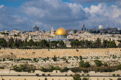 Jerusalem landscape Stock Images