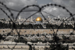 Jerusalem landscape Royalty Free Stock Photo