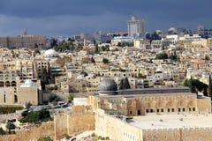 Jerusalem landscape Royalty Free Stock Photography