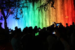 Jerusalem-Lichtfestival stockfotos