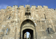 Jerusalem, lion's  a  gate; Stock Photography