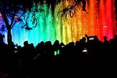 Jerusalem ljusfestival Royaltyfria Bilder