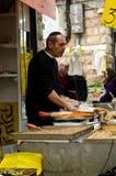 Jerusalem market stock photo