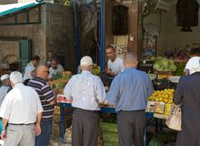 Jerusalem market Stock Photography