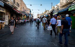 Jerusalem market Royalty Free Stock Image