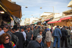 Jerusalem Market, Shopping Stock Photos