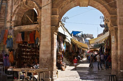 jerusalem marknad Royaltyfri Foto