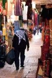 Jerusalem marknadsför den gammala staden Arkivfoton