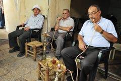Jerusalem marknadsför den gammala staden Arkivbilder