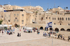 The Wailing Wall - Israel Stock Image