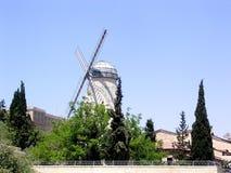 Jerusalem Mill of Montefiyory 2005 Stock Photography