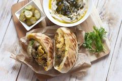 Jerusalem mixed grill or Meorav Yerushalmi. Israeli cuisine. Stock Image