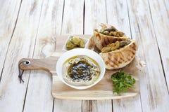 Jerusalem mixed grill or Meorav Yerushalmi. Israeli cuisine. Stock Photography