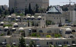 jerusalem mosheyemin Arkivbild