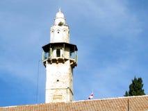 Jerusalem Mosque of Omar minaret 2012 Royalty Free Stock Image