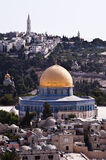 Jerusalem and Mount of Olives Stock Photo
