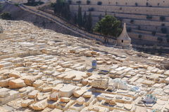 Jerusalem Mount of Olives Cemetery. Israel Royalty Free Stock Images