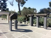 The Jerusalem Museum. Near the Knesset in Jerusalem - Israel Museum Royalty Free Stock Photography