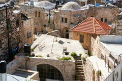 Jerusalem, Muslim quarter, Roofs of the Old City Royalty Free Stock Photography