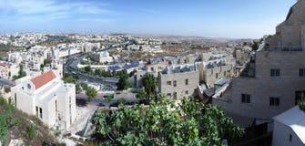Jerusalem-Nachbarschaft, Israel Lizenzfreie Stockfotos
