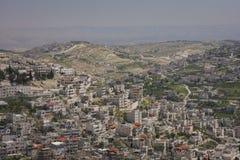 Jerusalem. New part of Jerusalem, non-touristic one Stock Photography