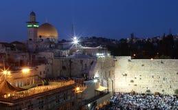 Jerusalem. In the night, Israel Stock Photo