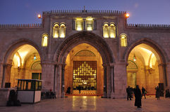 Jerusalem night photo Royalty Free Stock Photography