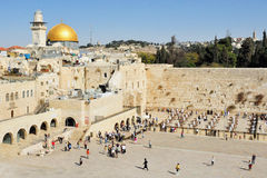 The Kotel - Israel Royalty Free Stock Photos