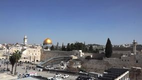 Jerusalem stock video