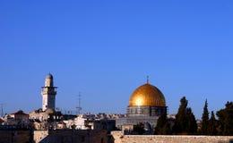 Jerusalem Old city. Dome of the rock Jerusalem, Israel Royalty Free Stock Photos